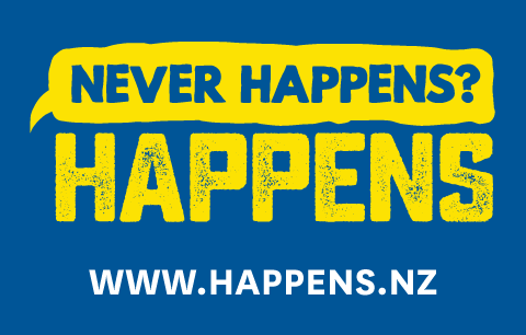 Never Happens? Happens. www.happens.nz